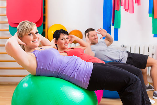 Group pilates